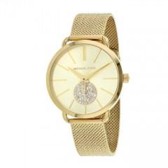 MICHAEL KORS Portia Gold Stainless Steel Women's Watch MK3844