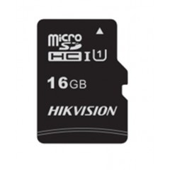 Hikvision micro SD 16GB Up to 92MB/s More than 300 P/E HS-TF-C1-16