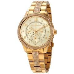 MICHAEL KORS Women's Watch Quartz Stainless Steel Gold MK6613