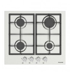 Dominox Built-In Hob 60 cm 4 Gas Burners Cast Iron Stainless DHX 604 4G XS F C FEN