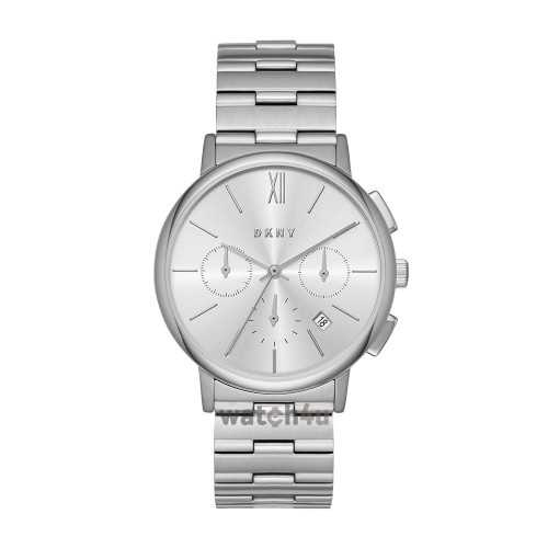 DKNY Chronograph Women's Watch Metal Color Silver NY2539