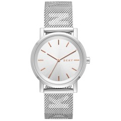 DKNY Women's Analogue Watch Stainless Steel Color Silver NY2620