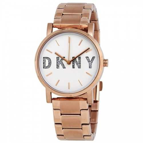 DKNY Women's Stainless Steel Color Rose Gold NY2654