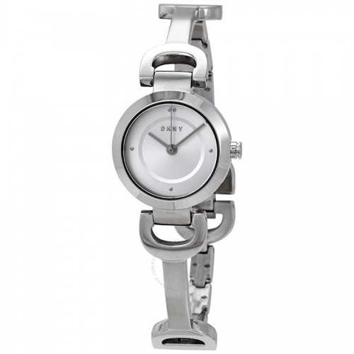 DKNY City Line Women's Watch Stainless Steel Silver NY2748