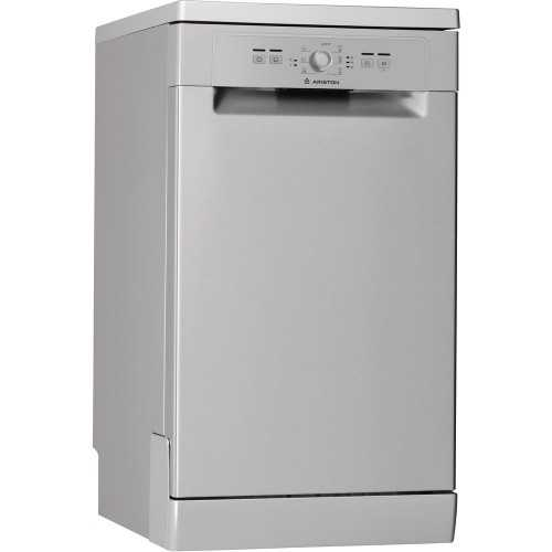 Ariston Dishwasher 45 cm 10 Persons 7 Program Silver: LSFB7B09XEX