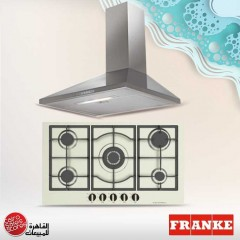 Dominox Built-In Hob 90 cm 5 Gas Burners Stainless DHX 905 4G TC XS F C FEN