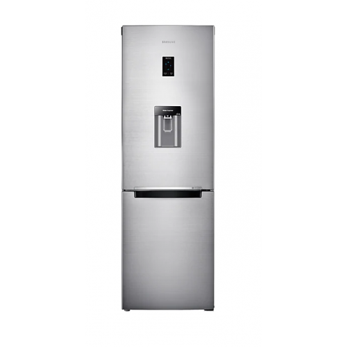 SAMSUNG Refrigerator 321 Liter Bottom Freezer inverter Digital Dispenser Inox Silver RB33J3830SS