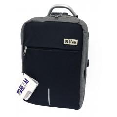 Beam Bag Laptop Oxford Gray&Black Color BM-538