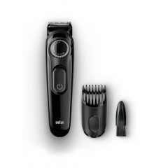 Braun Beard Trimmer with Precision Dial and 1 Comb BT3020 BK