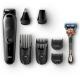 Braun Trimmer 8-in-1 6Attachments and Gillette Fusion5 ProGlide razor MGK5060