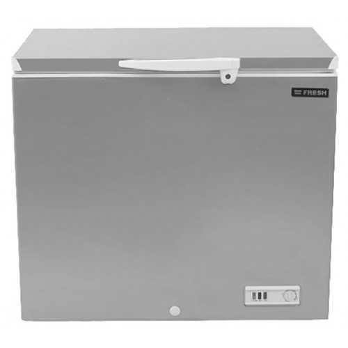 FRESH De-Frost Freezer 215 Liter Silver FDF 270 T