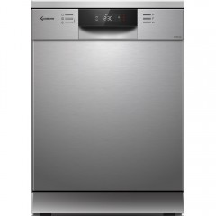 KLUGMANN Integrated Dishwasher 60 cm 12 Persons 8 Programs Silver KD600.5X