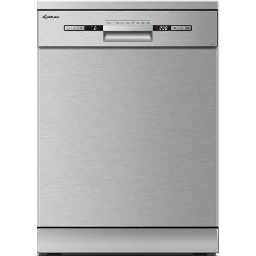 KLUGMANN Dishwasher 60 cm 14 Persons 7 Programs Silver KD600X