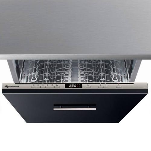 KLUGMANN Integrated Dishwasher 60 cm 12 Persons 6 Programs KD605