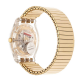 SWATCH Unisex Watch Gold Dial Stainless Steel SUOK702A