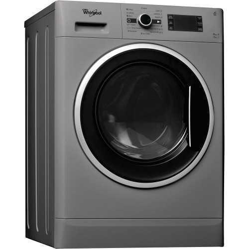 Whirlpool Washing Machine 11 KG 1600 rpm With Dryer 7 KG Inverter Silver WWDC 11716 S