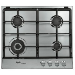 Whirlpool Built-In Gas Hob 60cm Cast Iron Stainless Steel AKR333