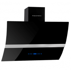 Ecomatic Decorative Hood 90cm Curved 1000 m3/h Touch Digital H910ATBLX