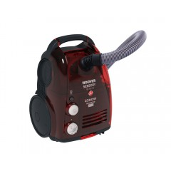 Hoover Dual Vacuum Cleaner 2300 Watt With HEPA Filter Red TC5235020