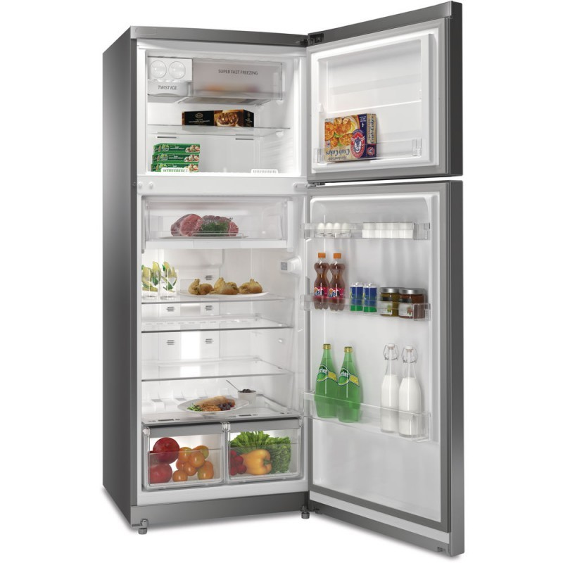 Whirlpool Refrigerator 438 L No Frost Silver Ttnf8111hox