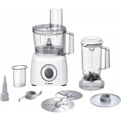 Bosch Food Processor 800 Watt 30 Functions White Color MCM3501M