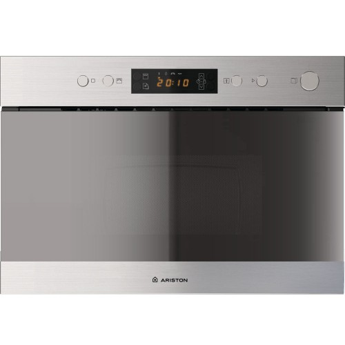 Ariston Built In Microwave 60 cm 22 Liter With Grill MN 313 IX A