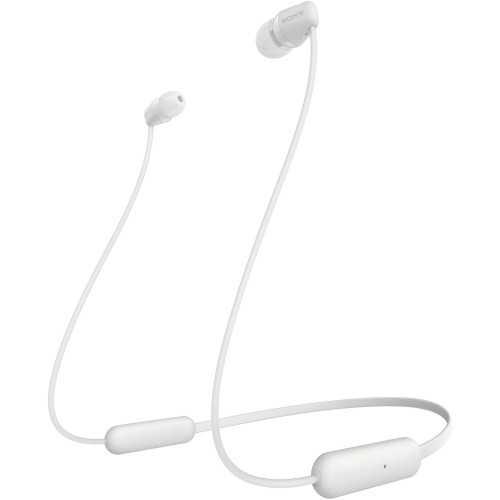 SONY In-ear Wireless Neck-Band Bluetooth Headphones White WI-C200-W