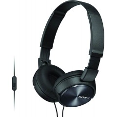 SONY Headband Wired Stereo Headset Black Color MDR-ZX310AP-BK