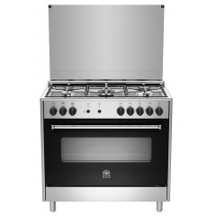 La Germania Cooker 90*60 Stainless Steel 5 Burners Full Safety: AMS95C31DX