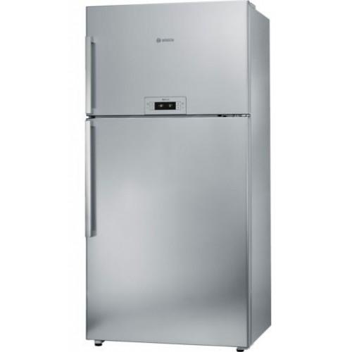 BOSCH Refrigerator 24 Feet 598 Liter No Frost Digital Silver: KDN74AL21N