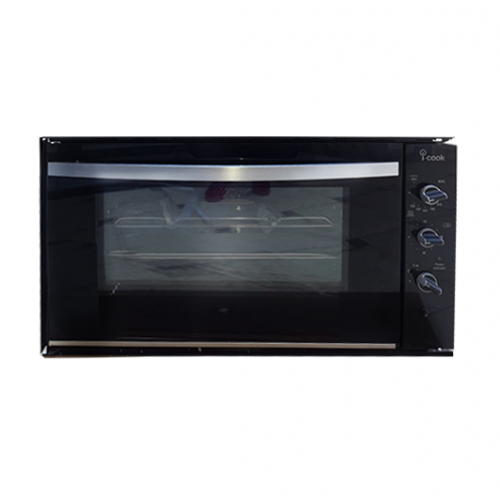 iCook Built-In Gas Oven 90 cm with Grill and Fan 100 L BO6090G-G-127-SF
