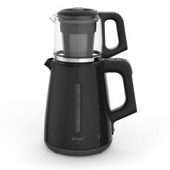 Arzum Tea Maker 1700 Watt Black Color AR3061