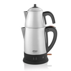 Arzum Turkish Tea Machine 1800 Watt Stainless Steel AR3051