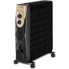 BLACK & DECKER Oil Radiator Heater 13 Fins 2500 Watt With Fan OR013FD