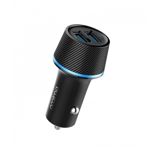 ORAIMO Car Charger Dual USB Black Color OCC-21D