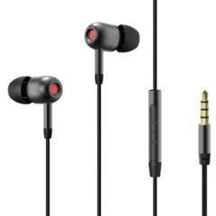 اوريمو سماعة أذن سلكية مع مايكروفون لون اسود OEP-E36