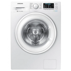 Samsung Washing Machine 7 KG 1400 Spin With Eco Bubble Technology White Color WW70J5455DW1AS