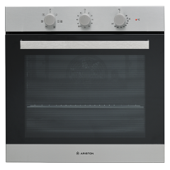 Ariston Built-in Electric Oven 60 cm 66 Liter With Electric Grill Stainless Steel FA3 530 H IX A