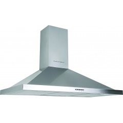 Ecomatic Kitchen Chimney Pyramid Hood 60 cm 650 m3/h Stainless Steel H66B