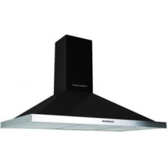 Ecomatic Kitchen Chimney Pyramid Hood 90cm 650 m3/h Stainless Steel H96IBKB