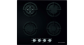 Ecomatic Built-In Crystal Hob 60 cm 4 Gas Burners S607ALC