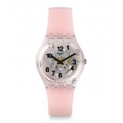 SWATCH Women's Watch Silicone Pink Band 34 mm Diameter GP158