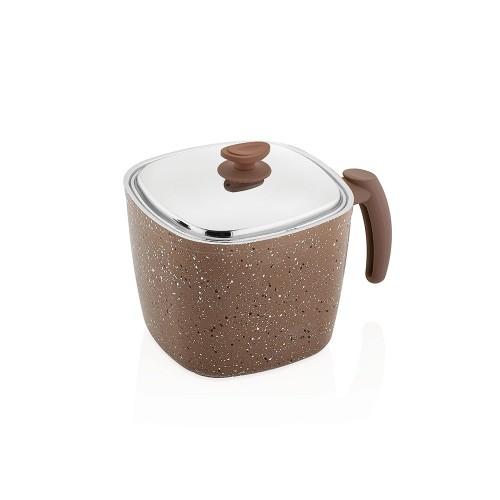 SAFLON Milk Pot Granite 16 cm 2.65 lt S-9367