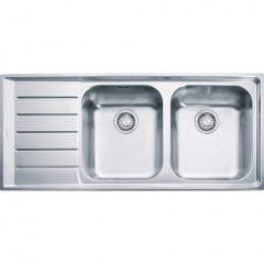 Franke Sink Double Bowls with Board Stainless Steel Neptune NEX 621 RH