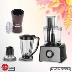 Black & Decker Food Processor 800 Watt 41 Functions FX810
