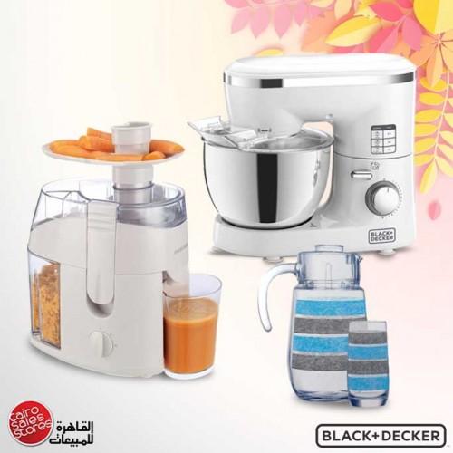 Black & Decker Kitchen Machine 1000 Watt 4 Liter SM1000