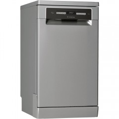 Ariston Dishwasher 45 cm 10 Persons 10 Program Digital Silver LSFO 3T223 W X