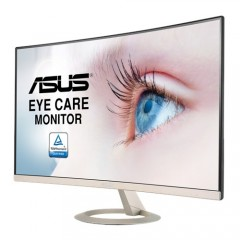 ASUS Gaming Monitor 27 Inch Eye Care Curved Full HD 1080p , Ultra-slim, Frameless, Flicker Free VZ27VQ