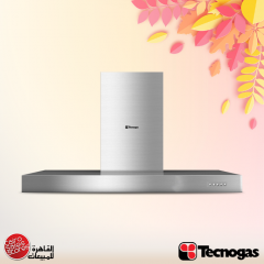 Tecnogas Kitchen Chimney Hood 850 m3/h Stainless: ITALIA 90