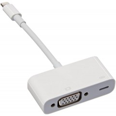 Apple Lightning to VGA Adaptor White Color MD825